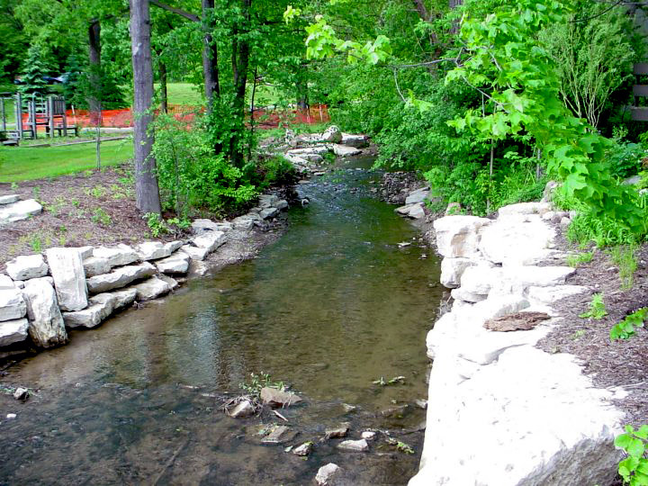 Image of Traver Creek, City of Ann Arbor