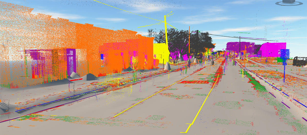 Infraworks Linear Feature Extraction Laser Scan